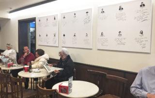 Firmas paredes Bar Bosch